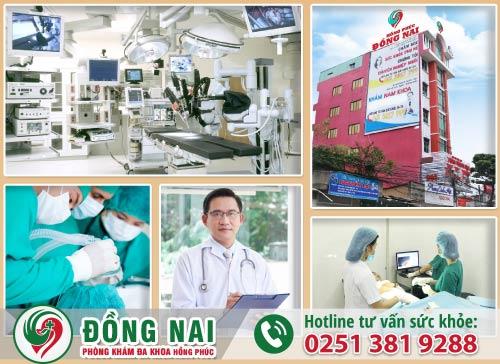 Phòng Khám Đa Khoa Hồng Phúc địa chỉ chữa bệnh nam khoa uy tín tại Tp.Biên Hòa