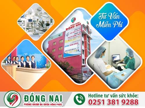 Phòng Khám Đa Khoa Hồng Phúc điều trị bệnh nam khoa uy tín tại Định Quán