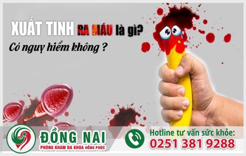 Xuất tinh ra máu là gì?
