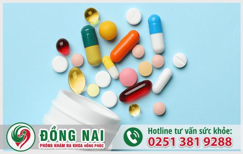 Thuốc được dùng cho trường hợp xuất tinh ra máu do viêm nhiễm nhẹ