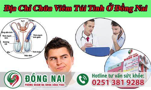 Địa chỉ khám viêm túi tinh ở đâu tại Đồng Nai