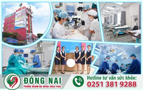 Phòng Khám Đa Khoa Hồng Phúc địa chỉ chữa viêm tuyến tiền liệt uy tín tại Long Thành