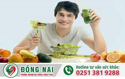 Nam giới nên ăn uống lành mạnh để phòng tránh bệnh tinh hoàn