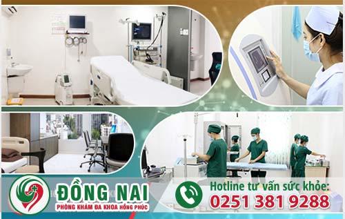 Trang thiết bị y tế hiện đại tại Phòng Khám Đa Khoa Hồng Phúc