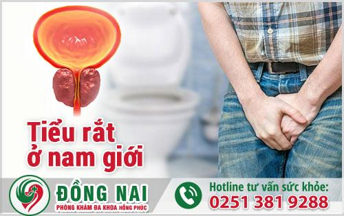 Tình trạng tiểu rắt ở nam giới xảy ra thường xuyên và lắt nhắt nhiều lần