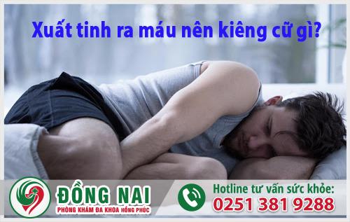 Xuất tinh ra máu là hiện tượng gây ra nhiều biến chứng nguy hiểm cho nam giới